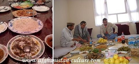 afgnan food culture About afghan food   an important expression of food culture in afghanistan is the dastarkhan,  in the afghan episode of food safari,.