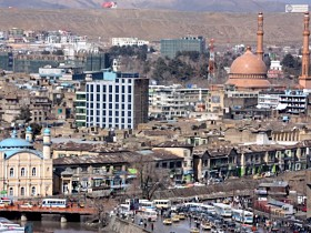 Kabul Afghanistan on tajikistan map location