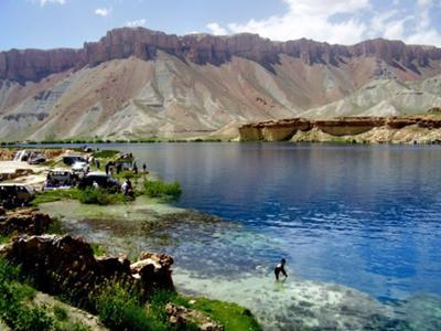 Blue Lake of Bamyan