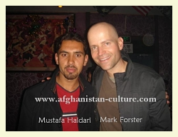Mustafa Haidari and Director Marc Forster